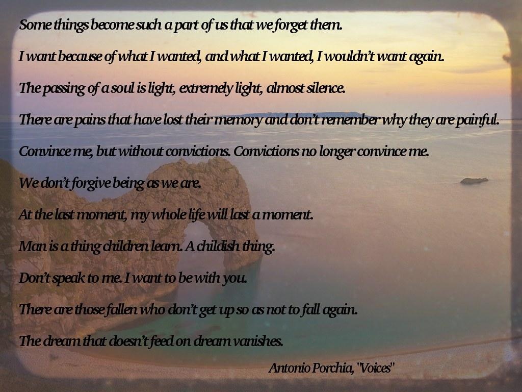 voices - porchia