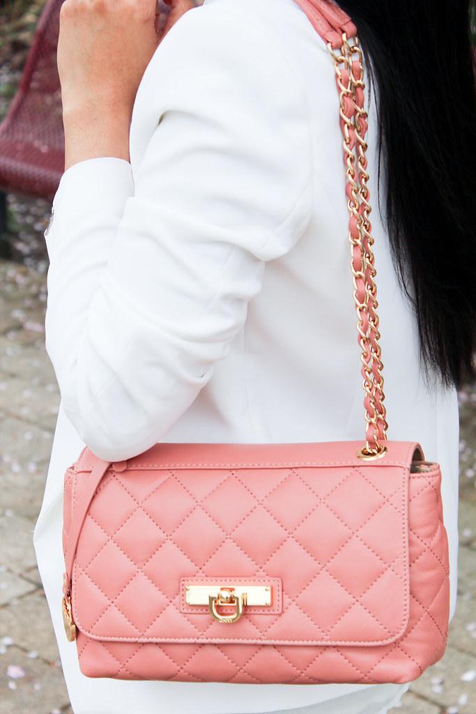 DKNY pink bag