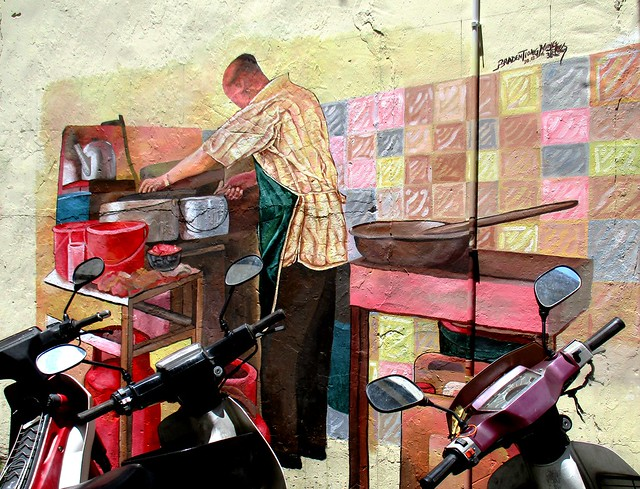 Street art - dian pian ngu guy