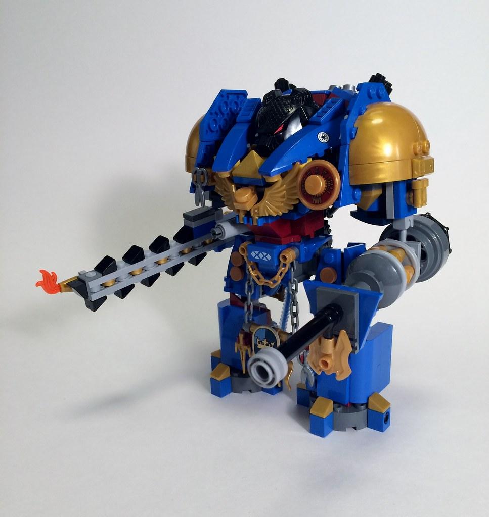 custom lego warhammer 40k imperial knight