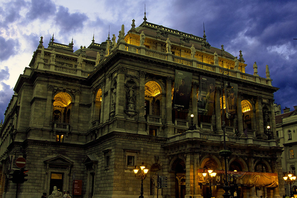 Hungarian State Opera House Credit Snobli Ivan, flickr