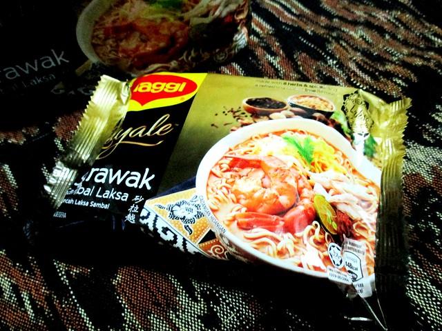 Maggi Royale Sarawak sambal laksa 2