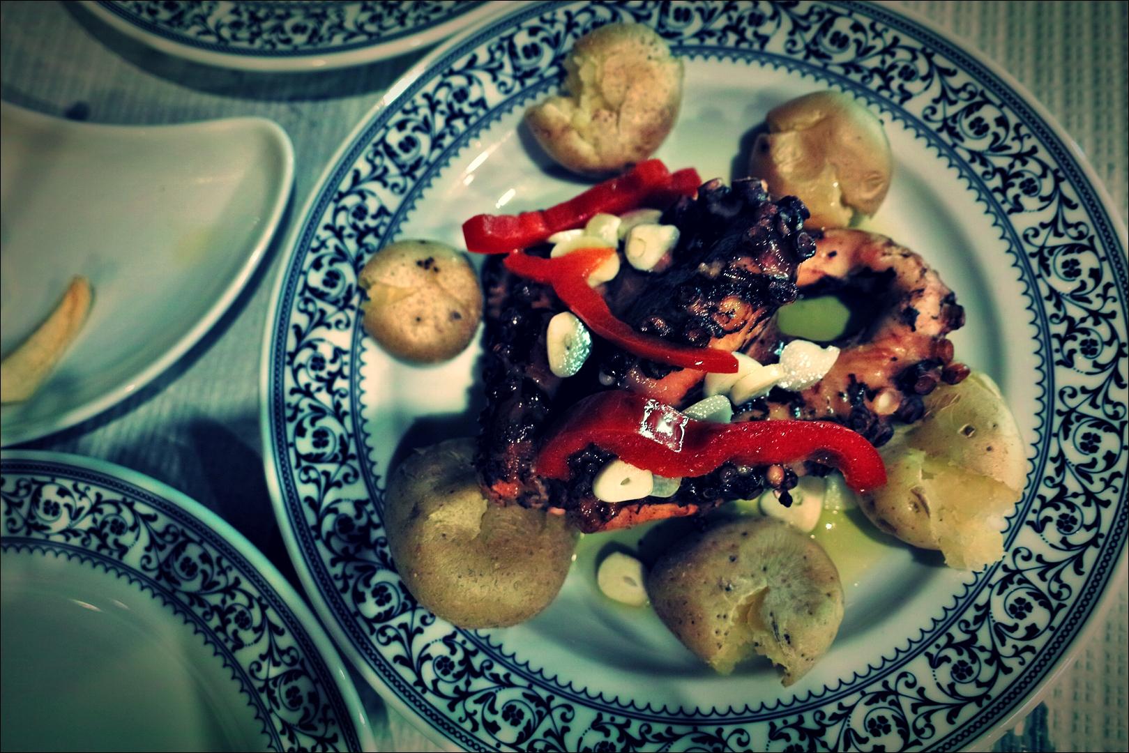 문어 구이-'리스본 오 치아두 레스토랑 Restaurant O Chiado Lisbon'