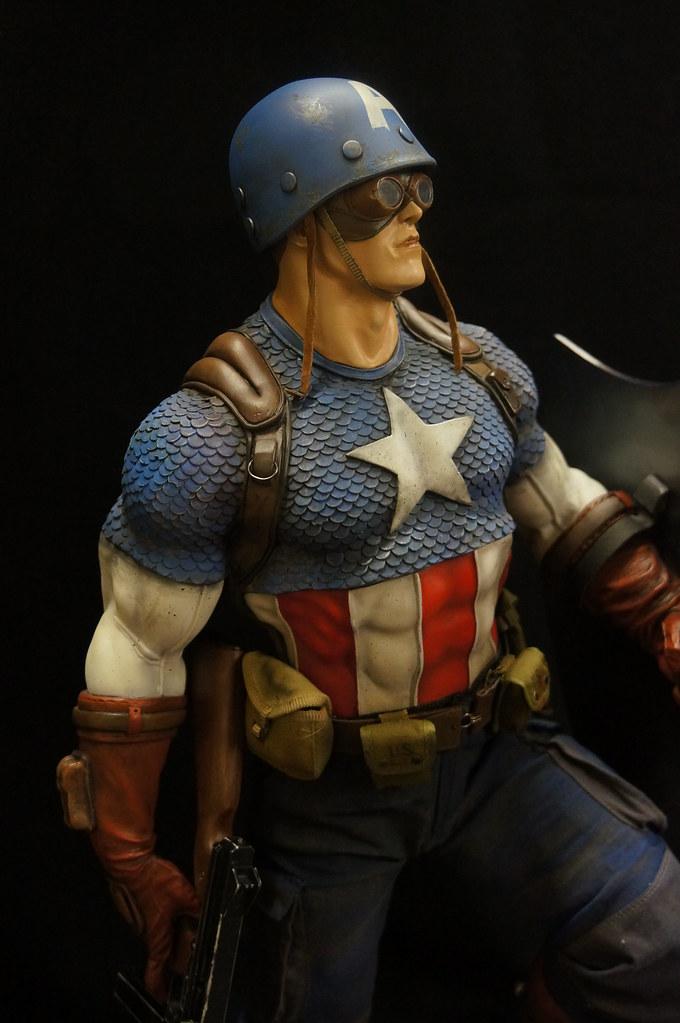 Custom Captain America Premium Format  25441860231_92f9fb8047_b