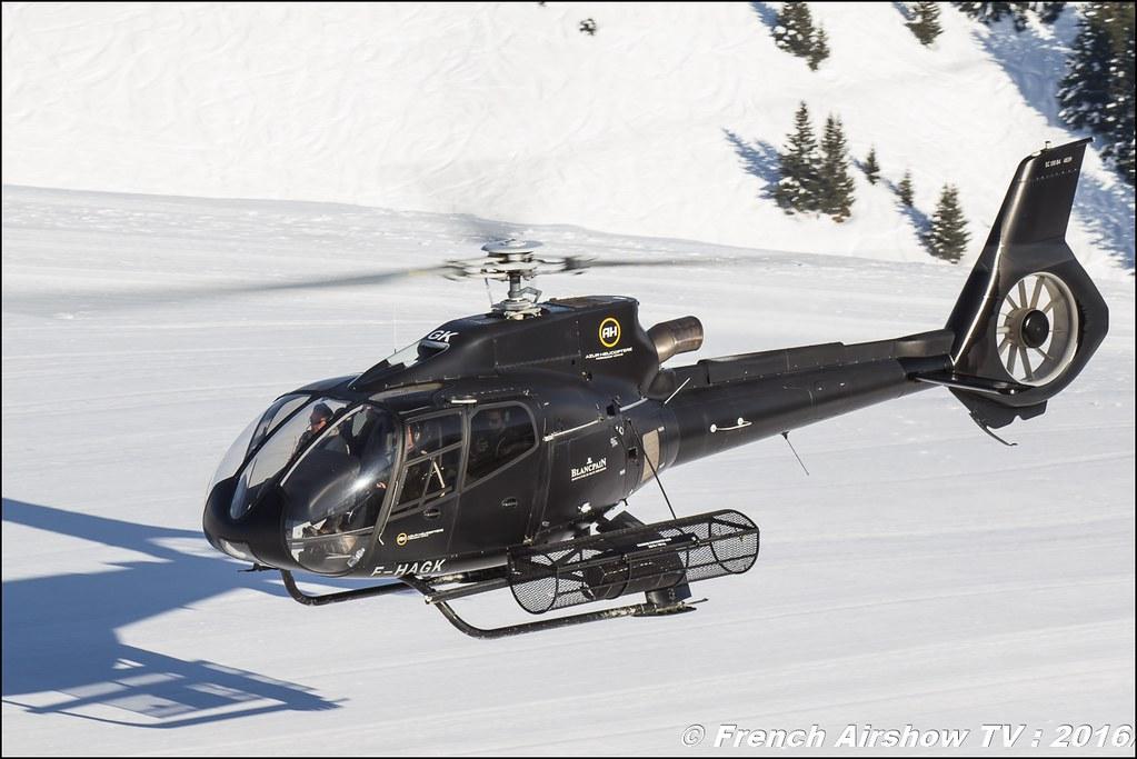 Eurocopter EC-130B-4 - F-HAGK Azur Hélicoptère SARL Salon Hélicoptère, Salon Hélicoptère à Courchevel 2016, Meeting Aerien 2016