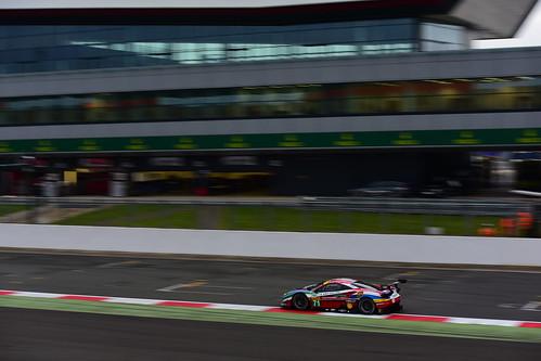 Davide Rigon - Sam Bird, Ferrari 488 GTE, WEC Silverstone 2016