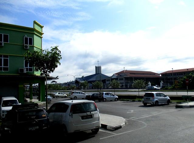Supermarket & churches