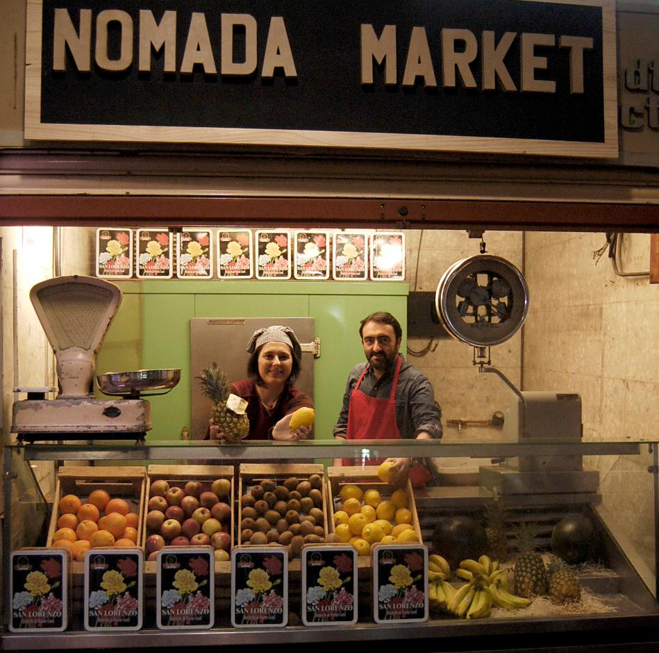 Photocall de Nómada Market Be Yourself Edition