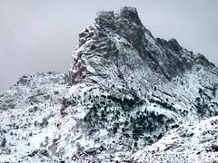 Punta Bunifazinca en hiver