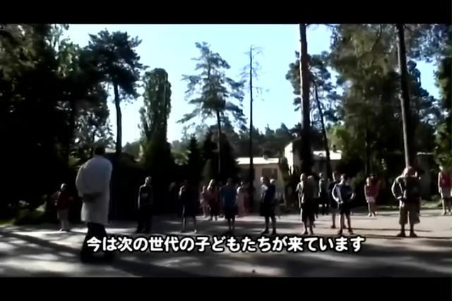 紀錄片〈車諾比28年後的孩子們2〉截圖,目前送到專門療養院的病童,已是車諾比當時孩童的下一代