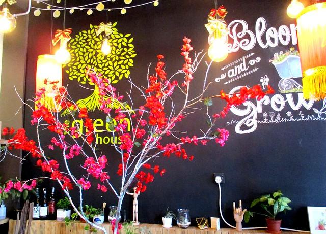 Green House CNY decor