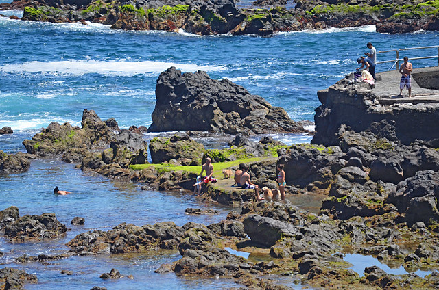 Rock pools, Puerto de la Cruz, Tenerife