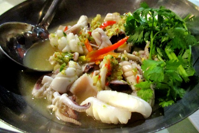 Flavours sotong in lime sauce