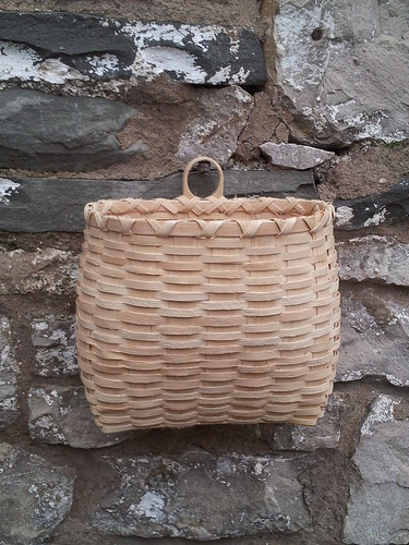 Ash splint wall basket