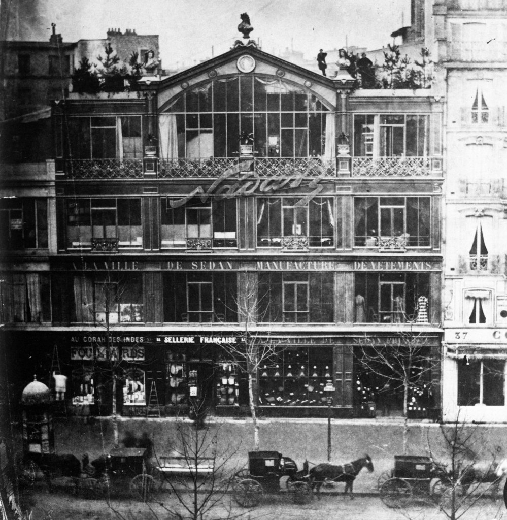The home of photographer Nadar, where the 1874 exhibition took place.