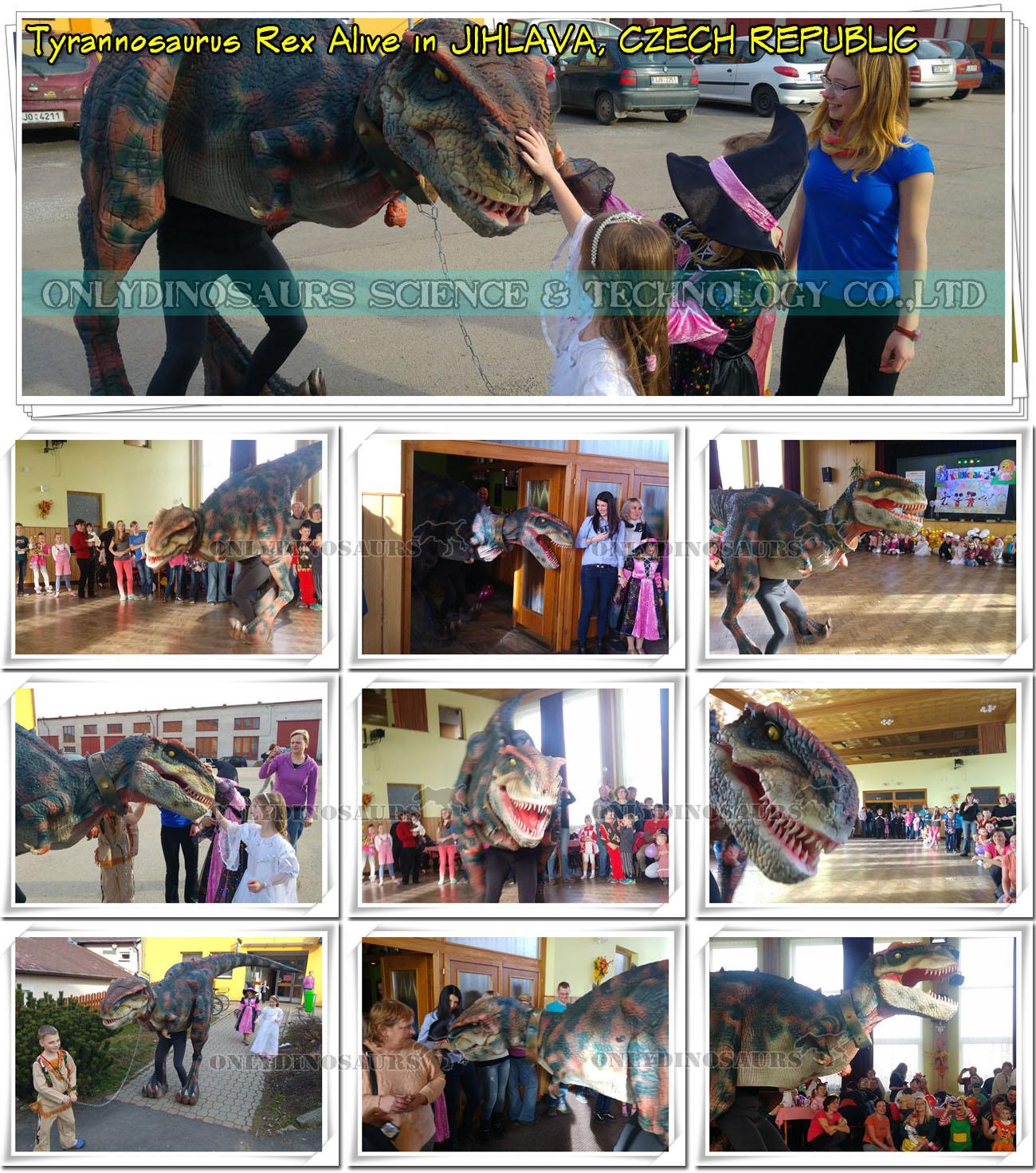 T-Rex Alive in Jihlava