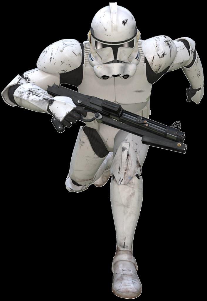 Clone Trooper Phase Ii Running Promo I Decide To