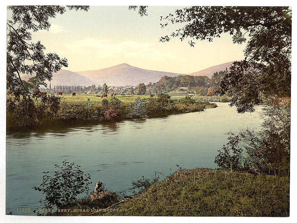 Abergavenny, Sugar Loaf Mountain