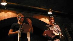 Peter Clar, Markus Köhle, textstrom Poetry Slam