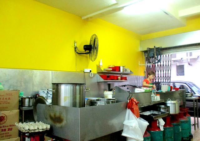Wan Jia He fried stuff stall