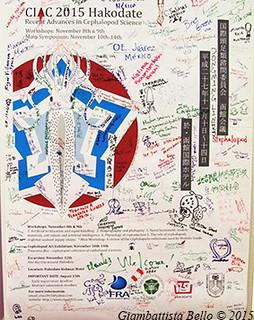 Il manifesto del congresso firmato da quasi tutti i partecipanti