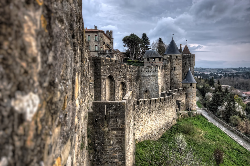 The Walls of Carcassonne. Photo Vicente Villamón