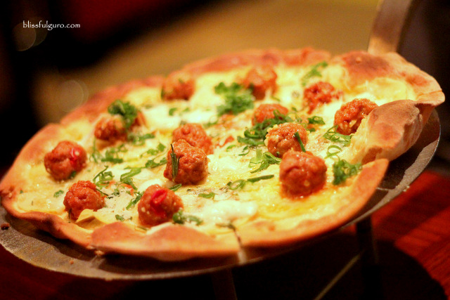 Cafe Causette Pork Pecorino Pizza