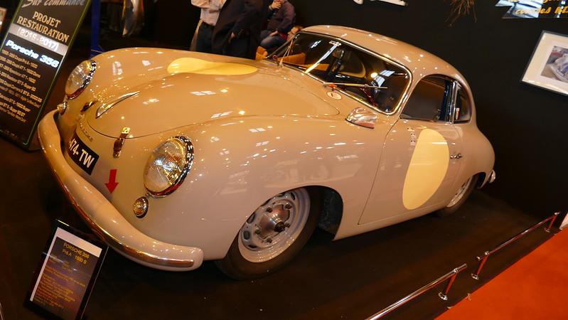 Coque sablée de Porsche 356 chez Z.S. Style - Retromobile 2016 25015115081_2cc8f38d47_c