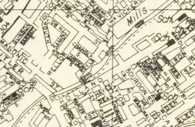 Historical Maps of Manchester