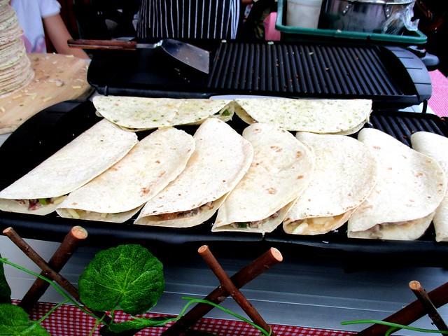 Gabriel's Mexican chicken quesadillas 3
