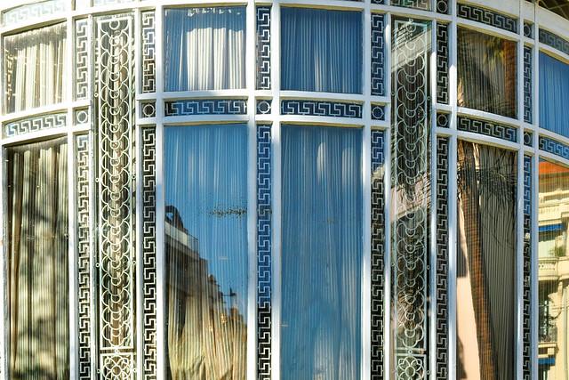 Nizza Nice Côte d'Azur Architektur Fassaden Fenster Gebäudedetails Formen Farben Foto Collage Brigitte Stolle März 2016