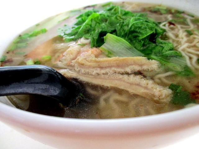 Beef tripe noodles, soup 2