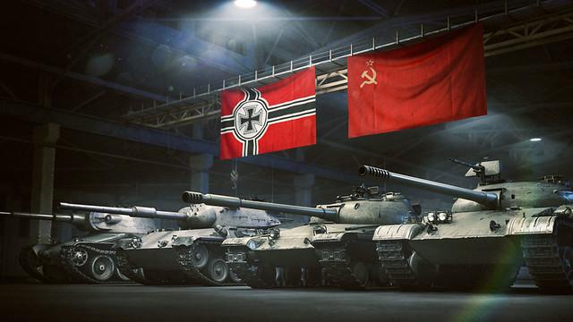 狼群更新入侵PlayStation®4 《戰車世界》新增蘇聯、德國戰車與地圖