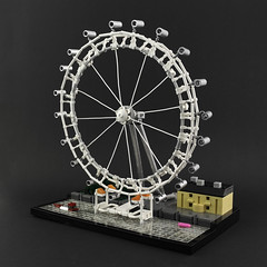 Architecture - London Eye by Legopard
