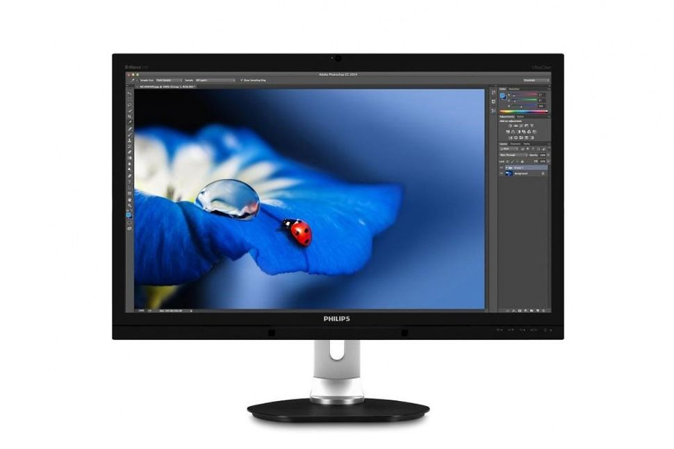 Philips push 3 monitor: 5K resolution, quantum dots, curved screen