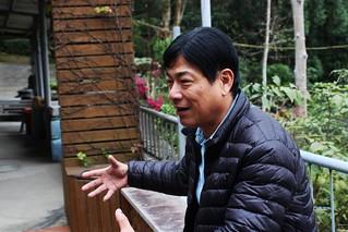 黃榮堃說,造林必須持之以恆,經營管理也可以營造層次。攝影:廖靜蕙