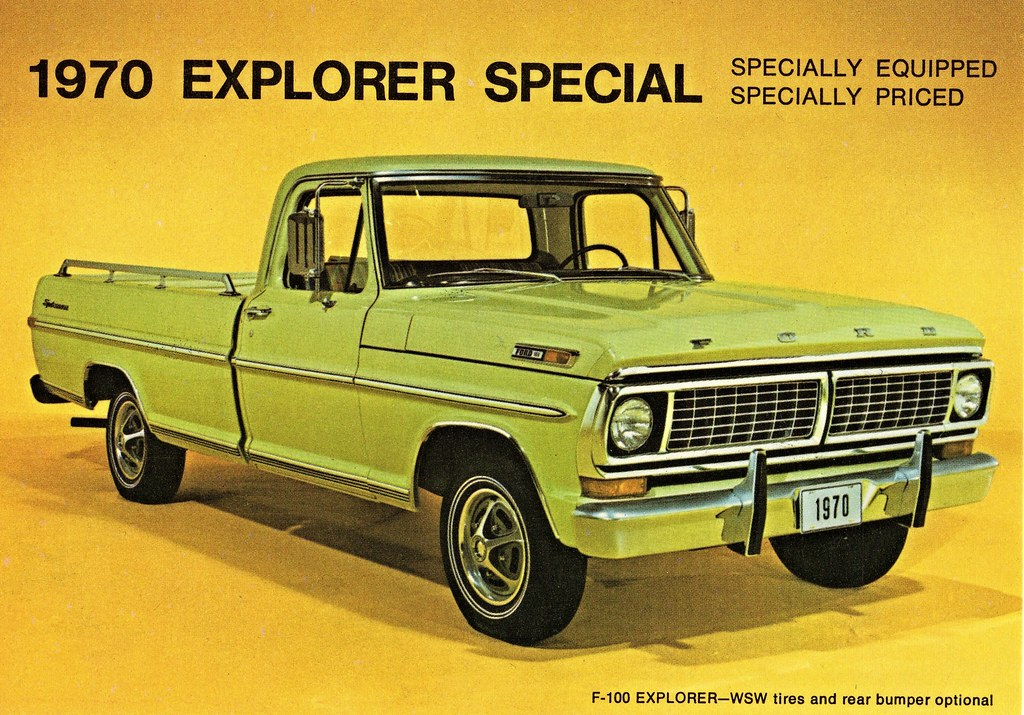 1970 Ford Explorer Special Pickup Alden Jewell Flickr