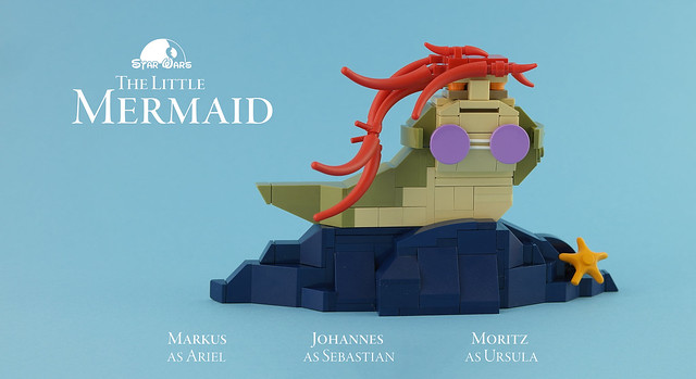 The Little Mermaid, by Legopard, on Flickr