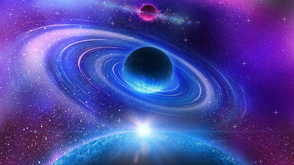Space-planets-stars-colliding-4k-space-wallpaper | John ...
