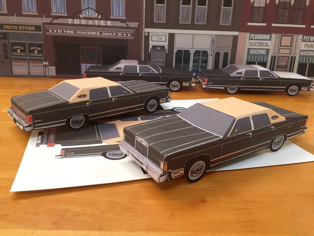 ebay templates for sale - for sale on ebay template for 1979 lincoln paper craft car