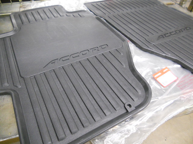 1998 2002 Honda Accord 4 Door Black Front All Season Floor