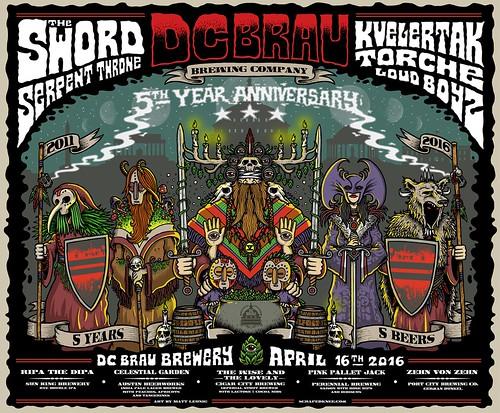 DC Brau's 5th Anniversary Show