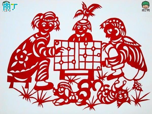 Brief introduction of Shandong binzhou folk paper-cutting, binzhou decoupage appreciation