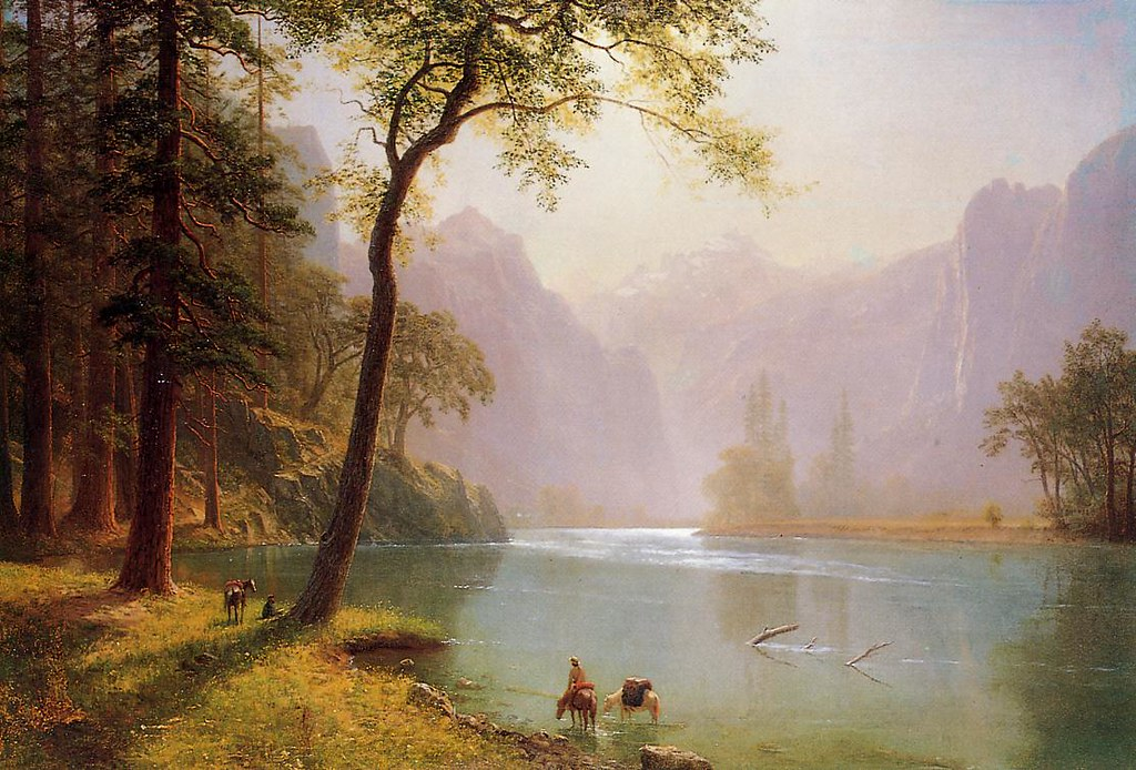The Kern River Valley (Sequoia National Park, California) by Albert Bierstadt, 1871