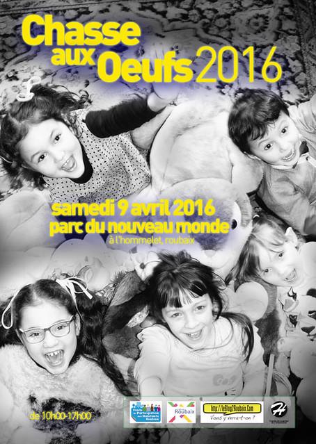 Chasse aux Oeufs 2016 à l'Hommelet