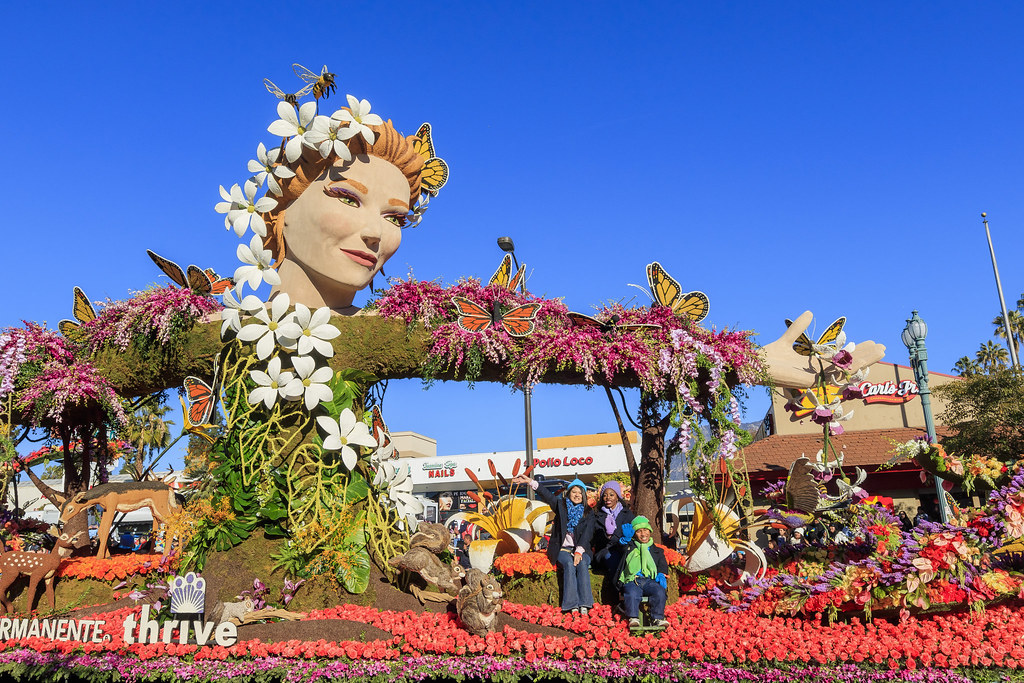 Pasadena Rose Parade Tours
