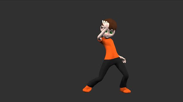 で、でけた・・・!ZBrushで3Dモデルをつくってアニメーションさせてみました