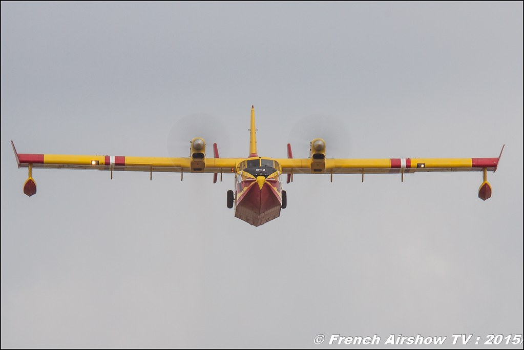 CL-415 Canadair , Sécurité Civile ,Bombardier CL-415 Super Scooper , Paris Airshow 2015 , Salon du Bourget 2015 ,lebourget, Meeting Aerien 2015