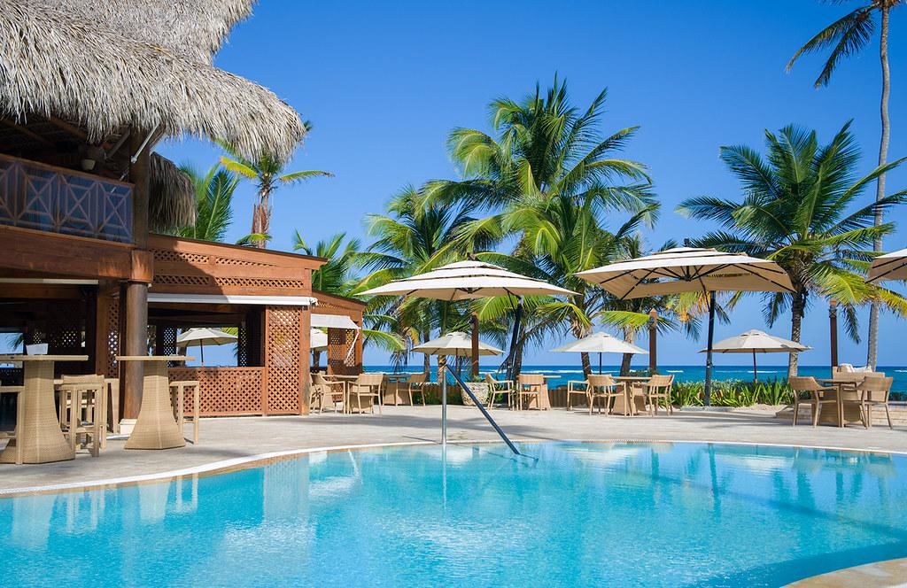 pool and terrace vik hotel cayena beach vik hotels group flickr. Black Bedroom Furniture Sets. Home Design Ideas
