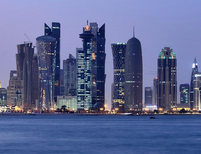 Rascacielos de Doha